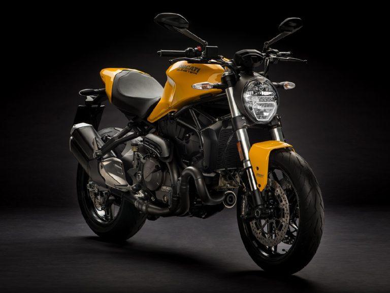 Ducati-Monster-821-Yellow
